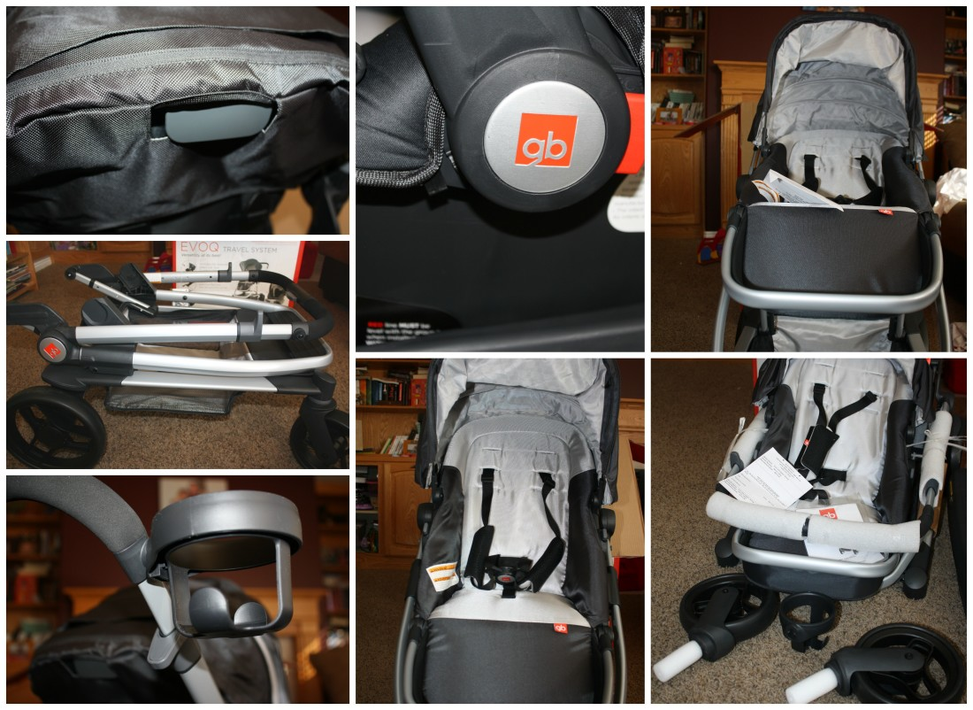 The new Evoq Stroller Travel System by GB Review