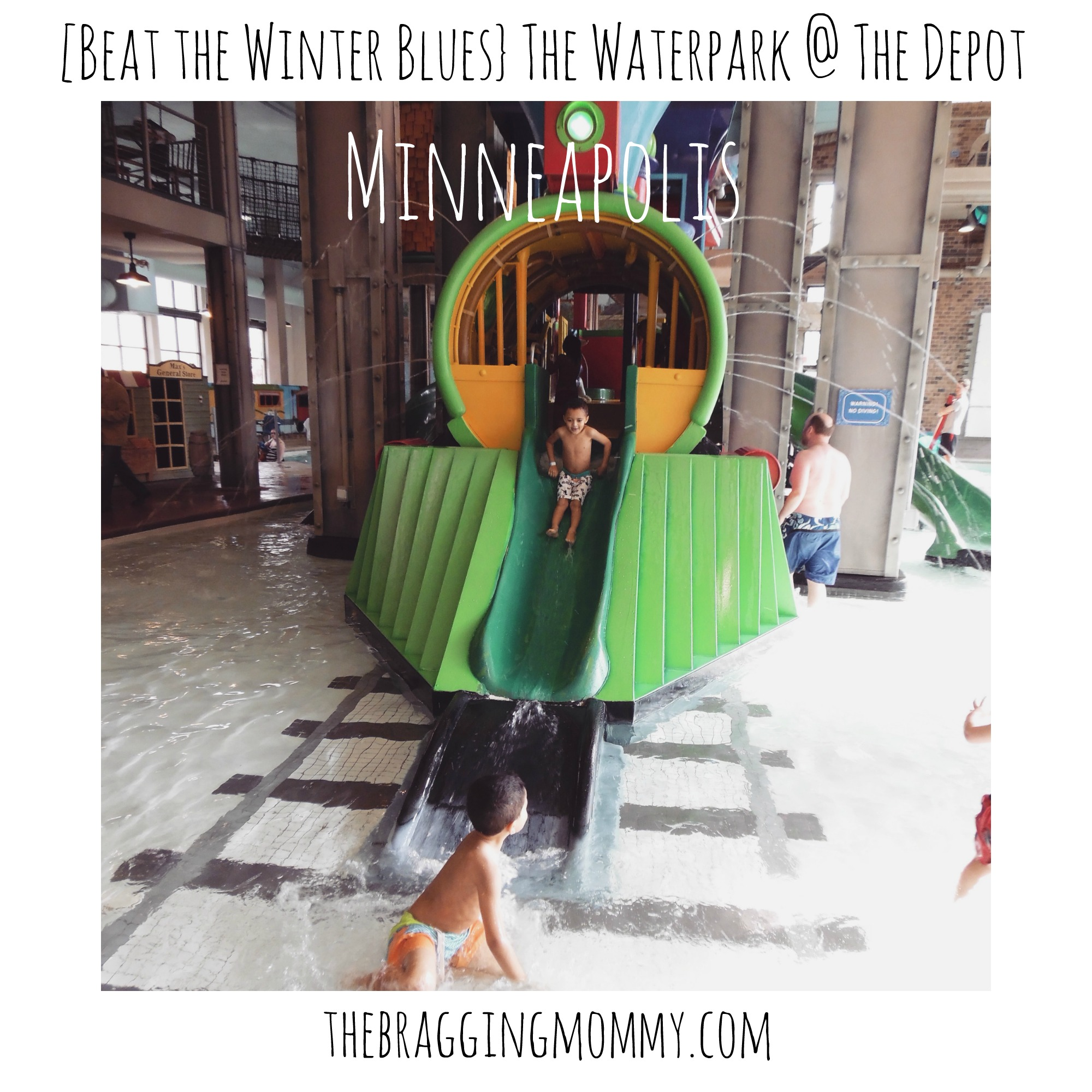 {Beat the Winter Blues} The Waterpark at the Depot Minneapolis