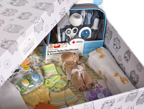 The Baby Box…what every Mom needs with a new baby