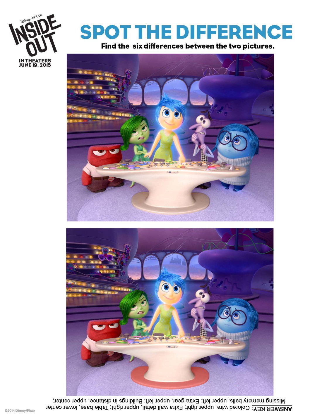 Out Activity Sheets Including Easter Egg Decorating PixarInsideOut