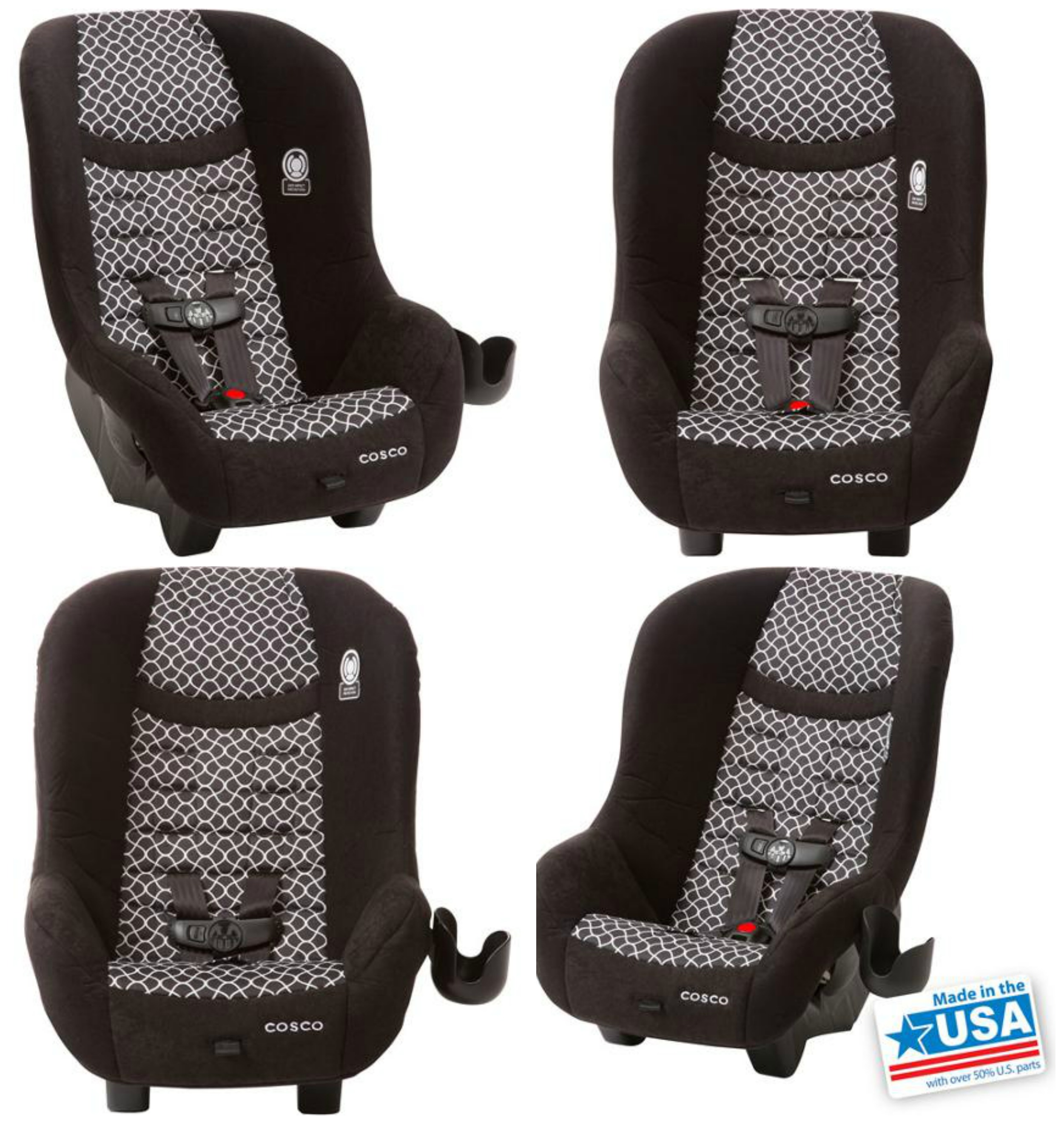 Affordable Car Seat Cosco Scenera NEXT Convertible Review