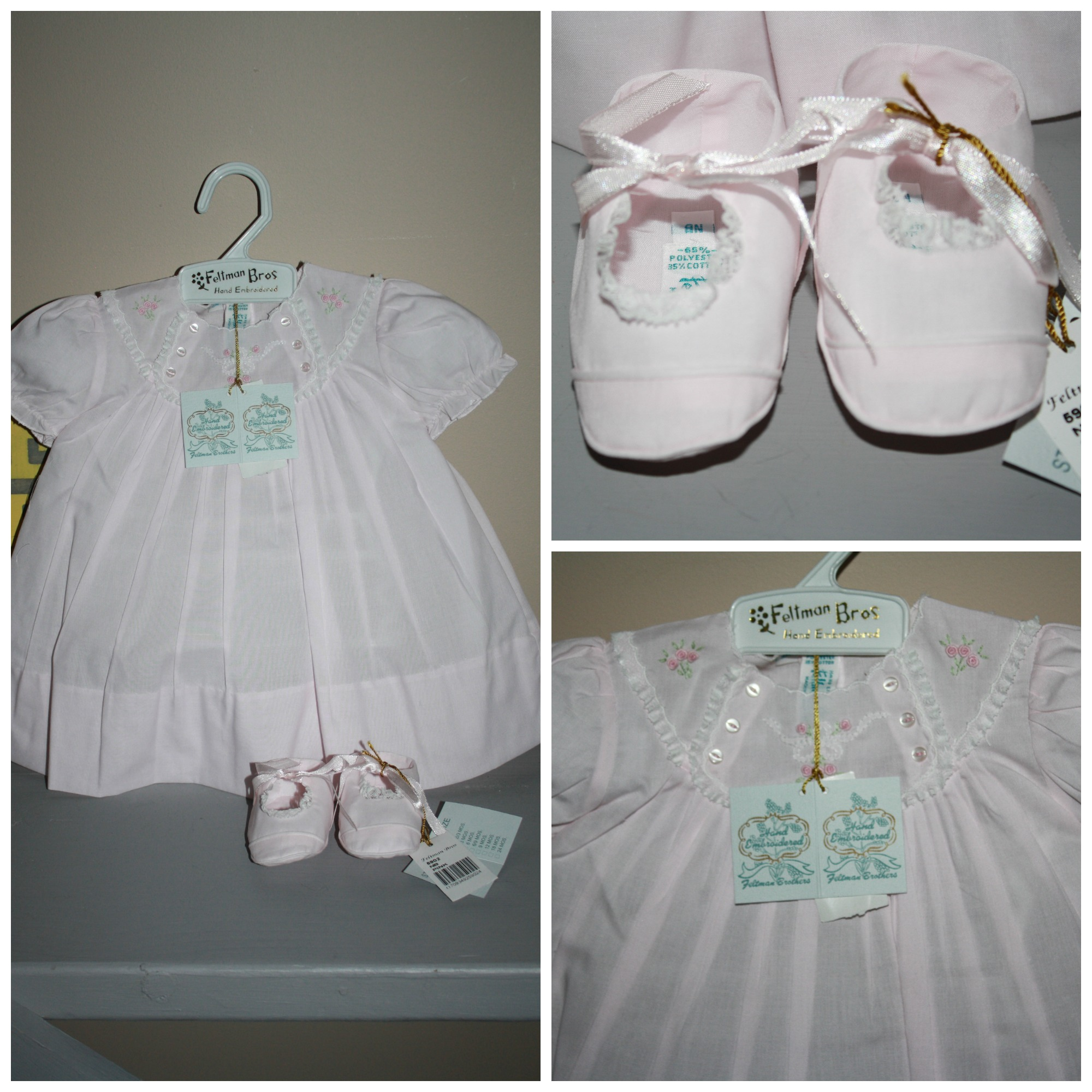 Feltman Brothers Heirloom Baby Clothing Perfect For Easter