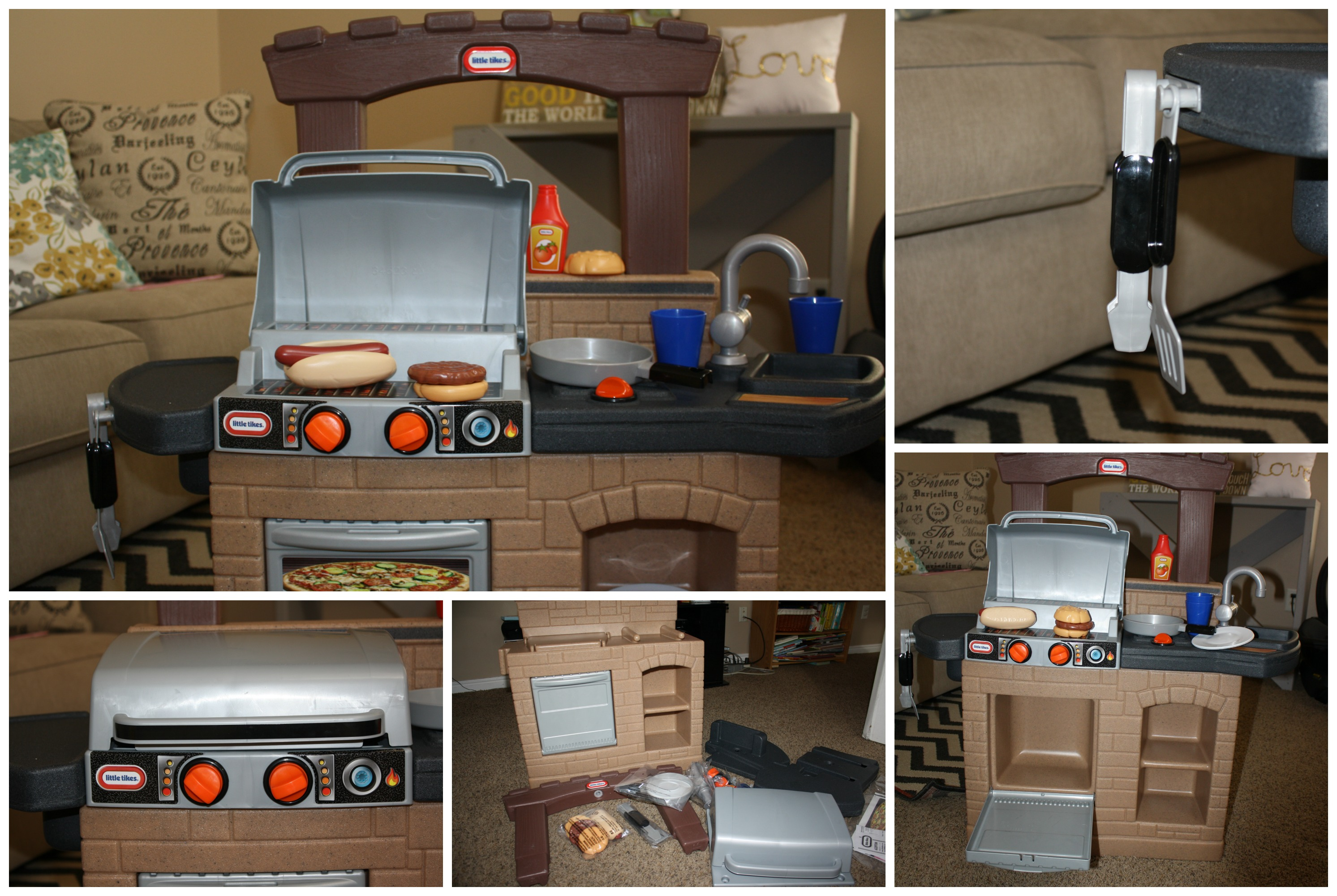 little tikes play kitchen with grill interior design