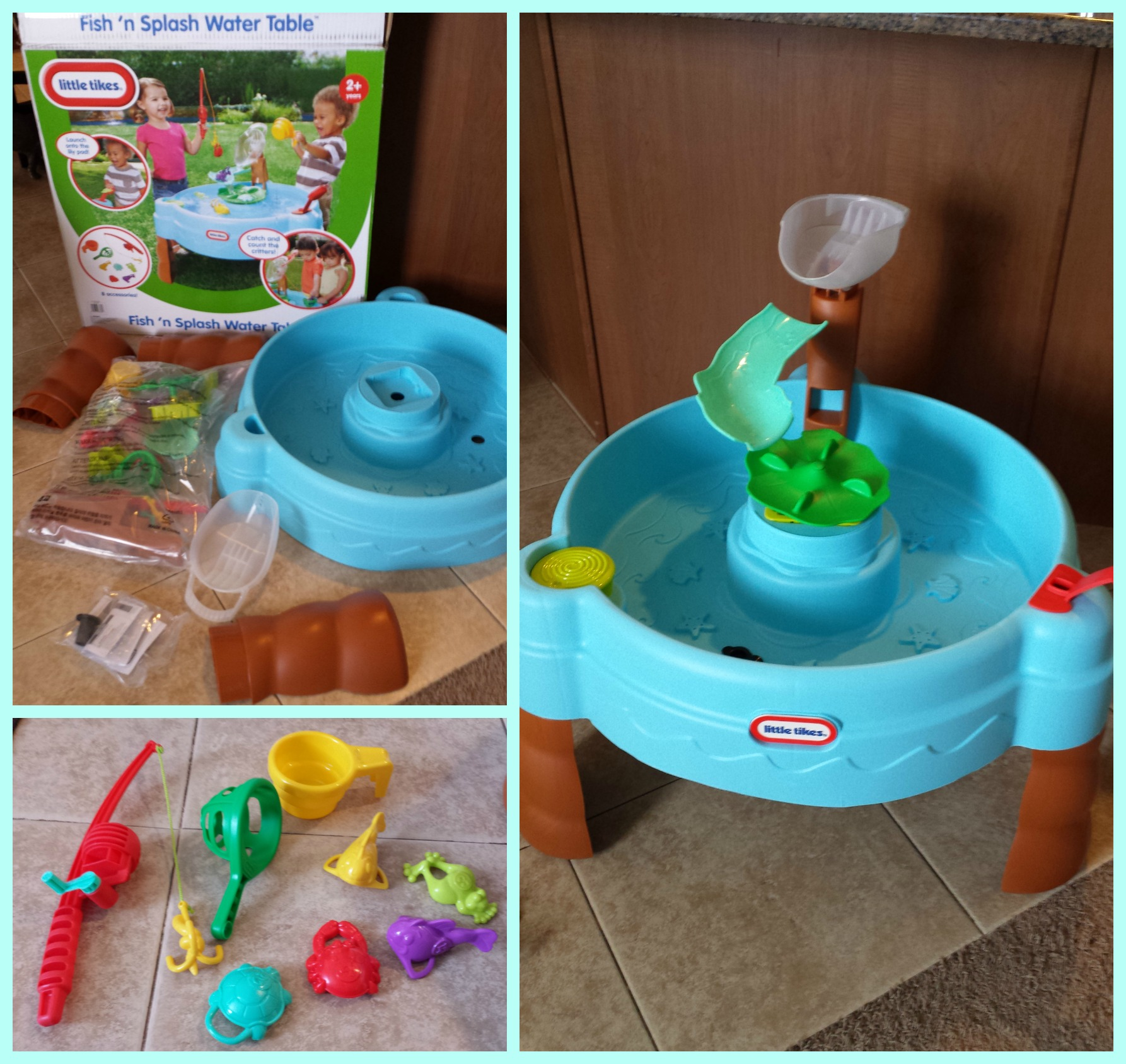 fish table sweepstakes little tikes fish n splash water table review and giveaway 8760