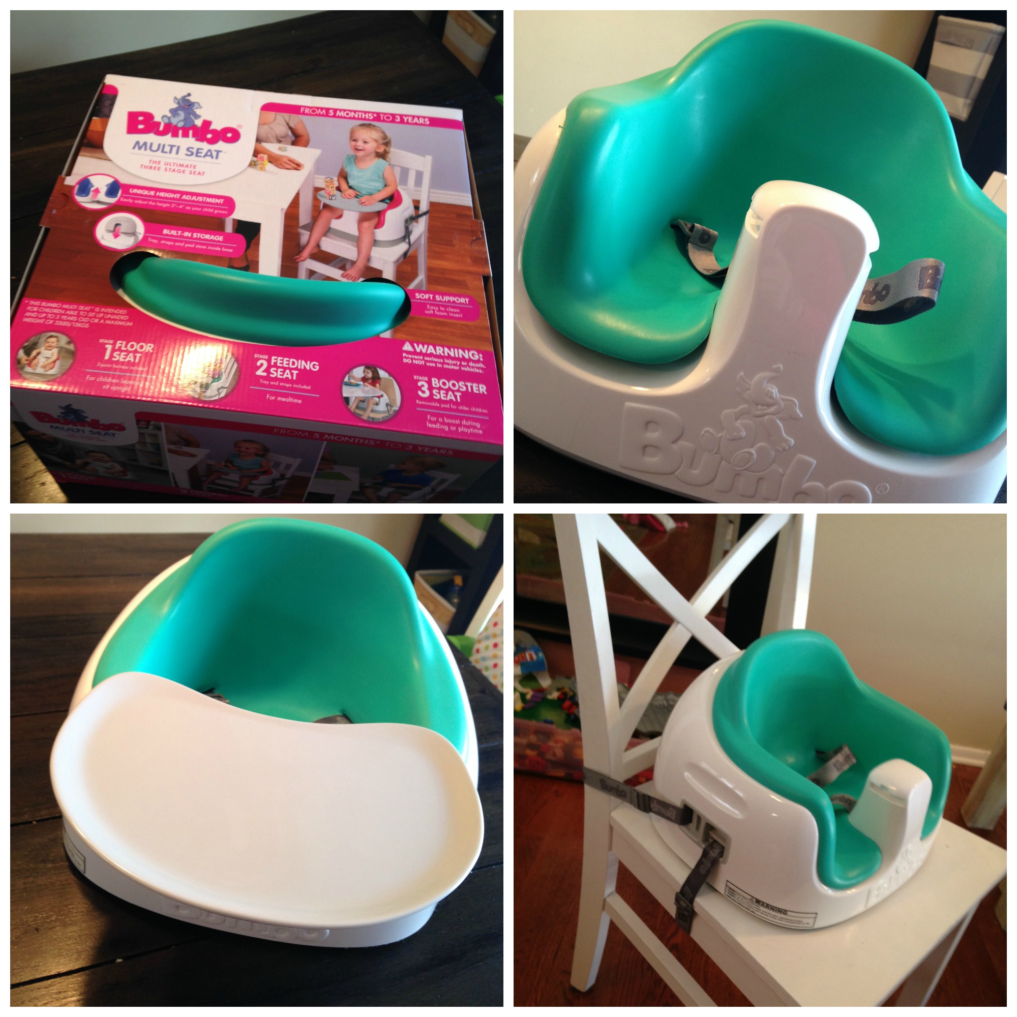 PicMonkey Collage & NEW Bumbo USA Multi Seat Review- The Ultimate Seat from Floor to Chair