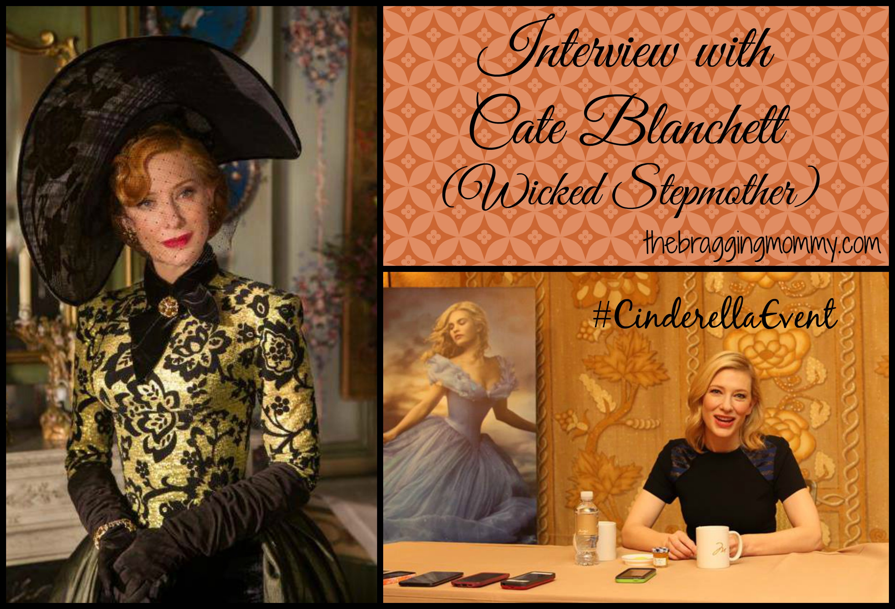 Interviewing the Incredible Cate Blanchett #CinderellaEvent