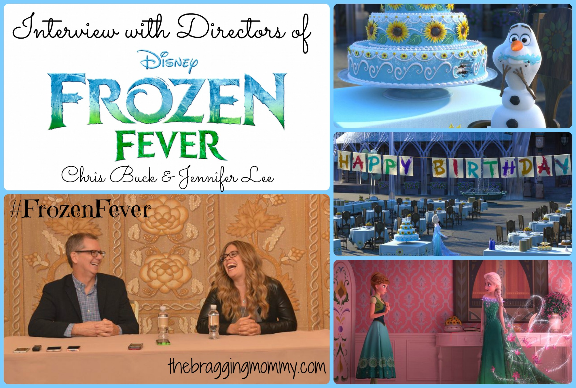 #FrozenFever Will Open Before Disney's Cinderella! Exclusive Interview with the Directors #CinderellaEvent