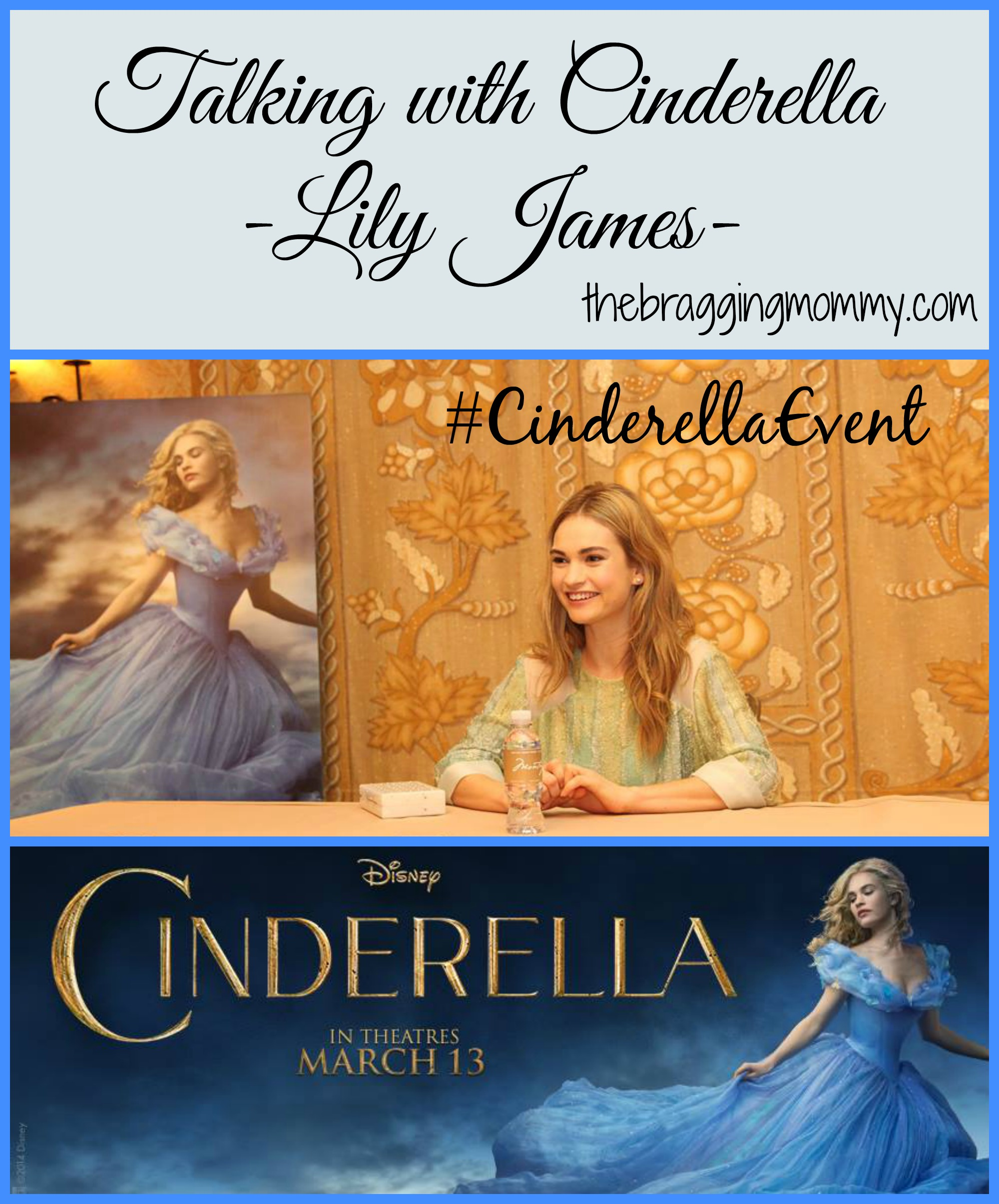 Talking with Cinderella Herself ~ Lily James Interview #CinderellaEvent