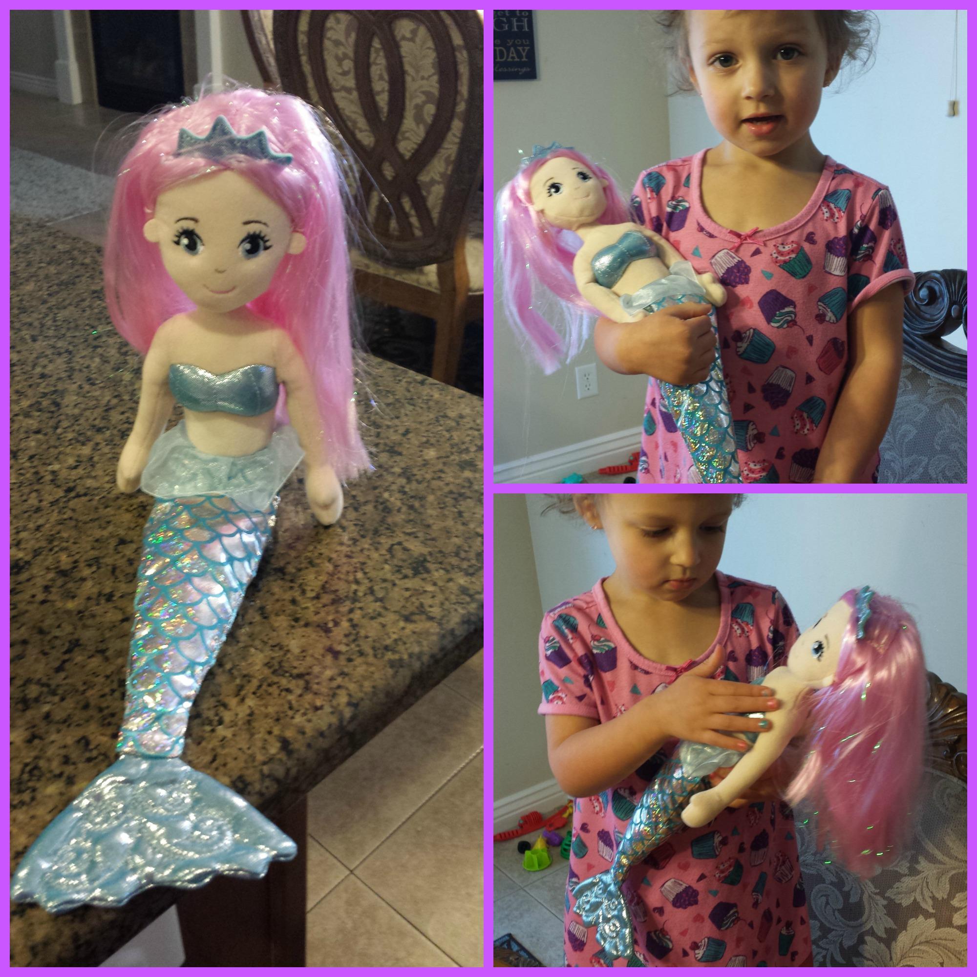 Поделки для девочек: Как сделать хвост русалки для куклы 29