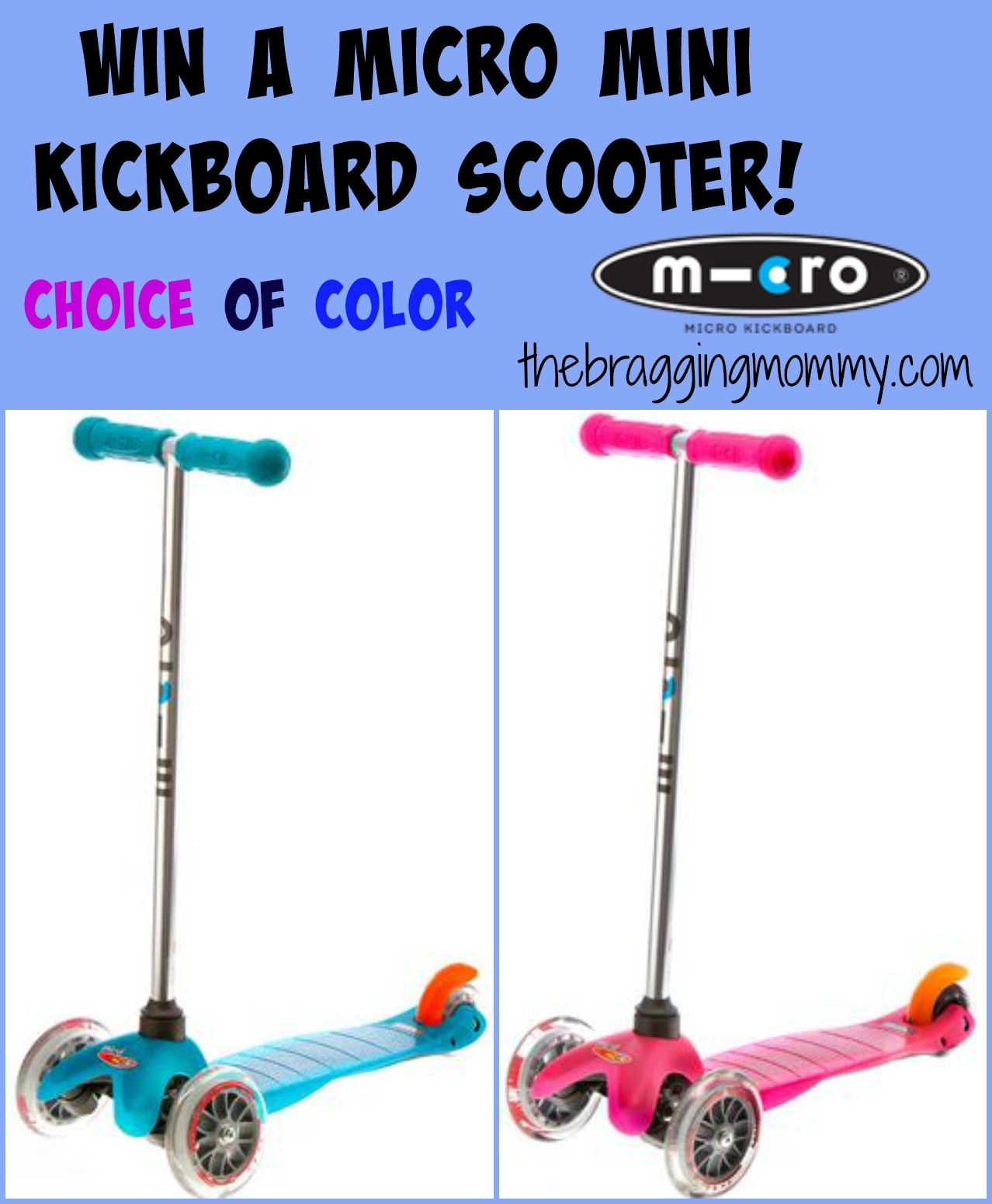Micro Mini Kickboard Scooter Review and Giveaway