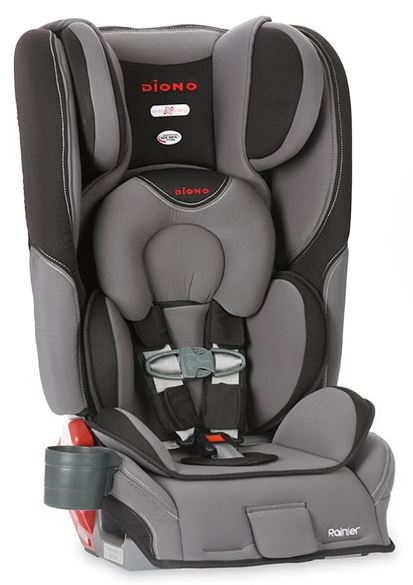 Diono Rainier Convertible+Booster Car Seat Review and Giveaway