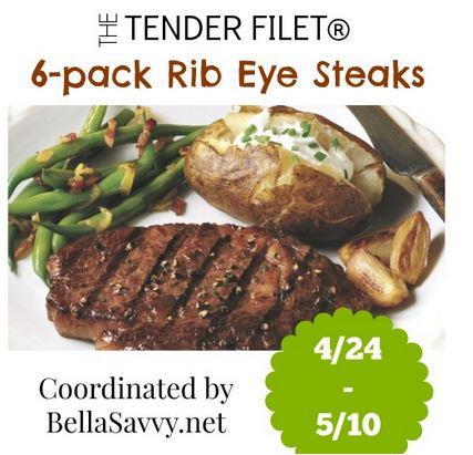 The Tender Filet Ribeye Steaks Giveaway
