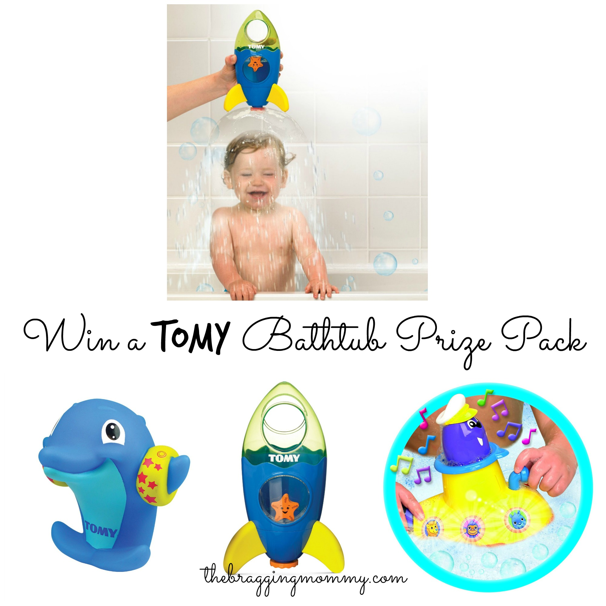 TOMY Bath Toys Review and Giveaway