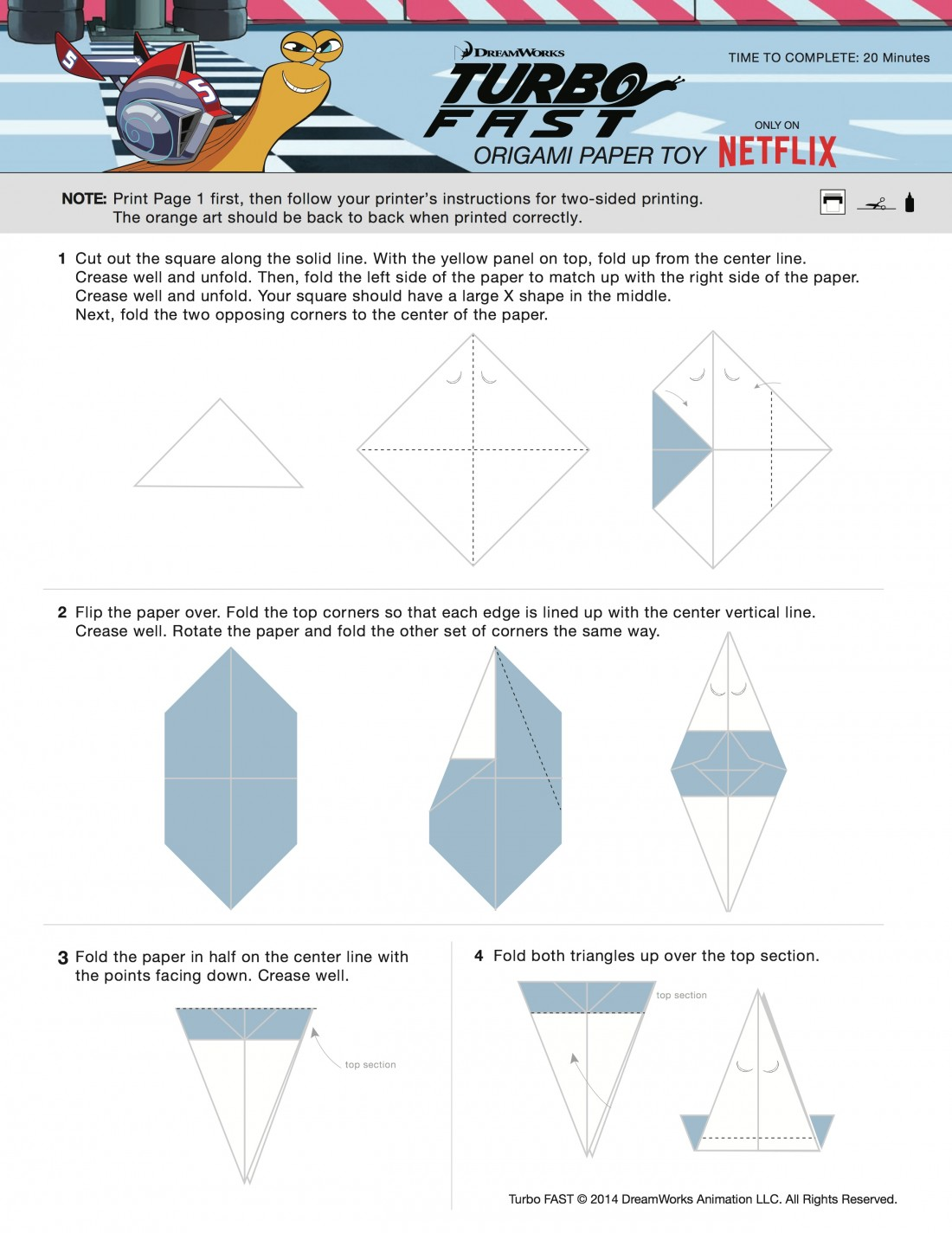 Turbo-Origami