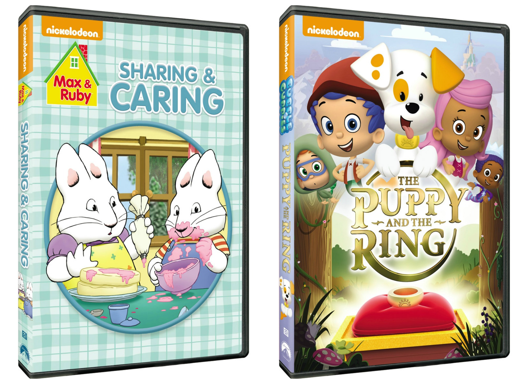 Max & Ruby Sharing & Caring DVD + Bubble Guppies The Puppy ...