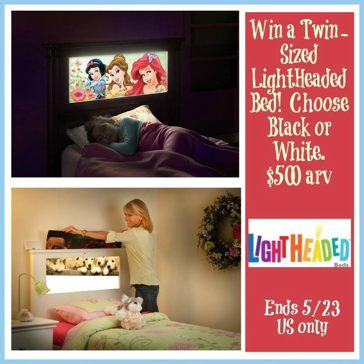 light headed bed giveaway