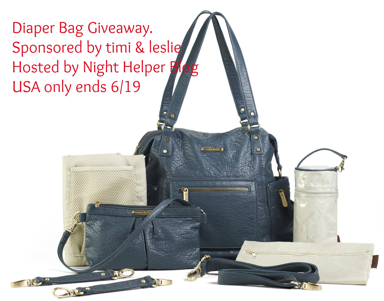 timi & leslie Diaper Bag Giveaway