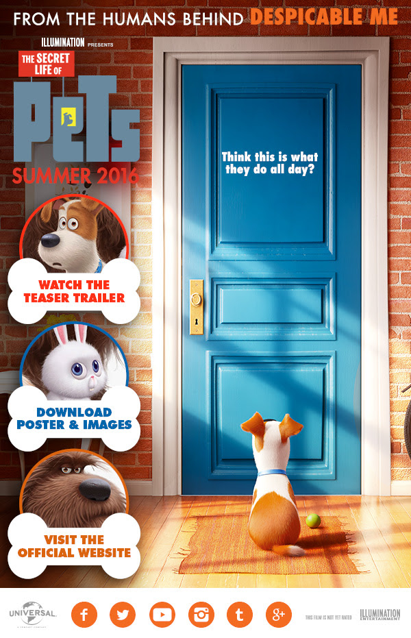 Film The Secret Life of Pets 2016 Subtitle Indonesia