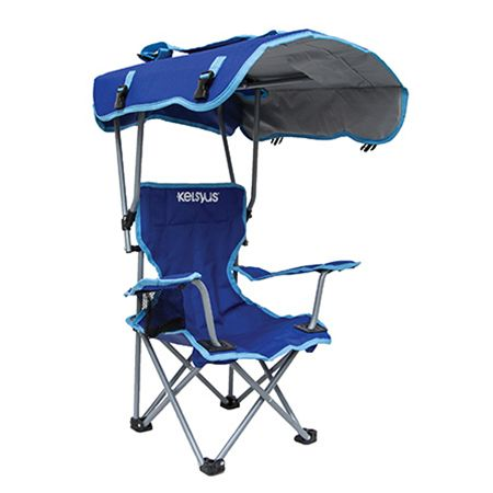 Kids canopy chair from kelsyus perfect for the summer for Outdoor furniture quad cities
