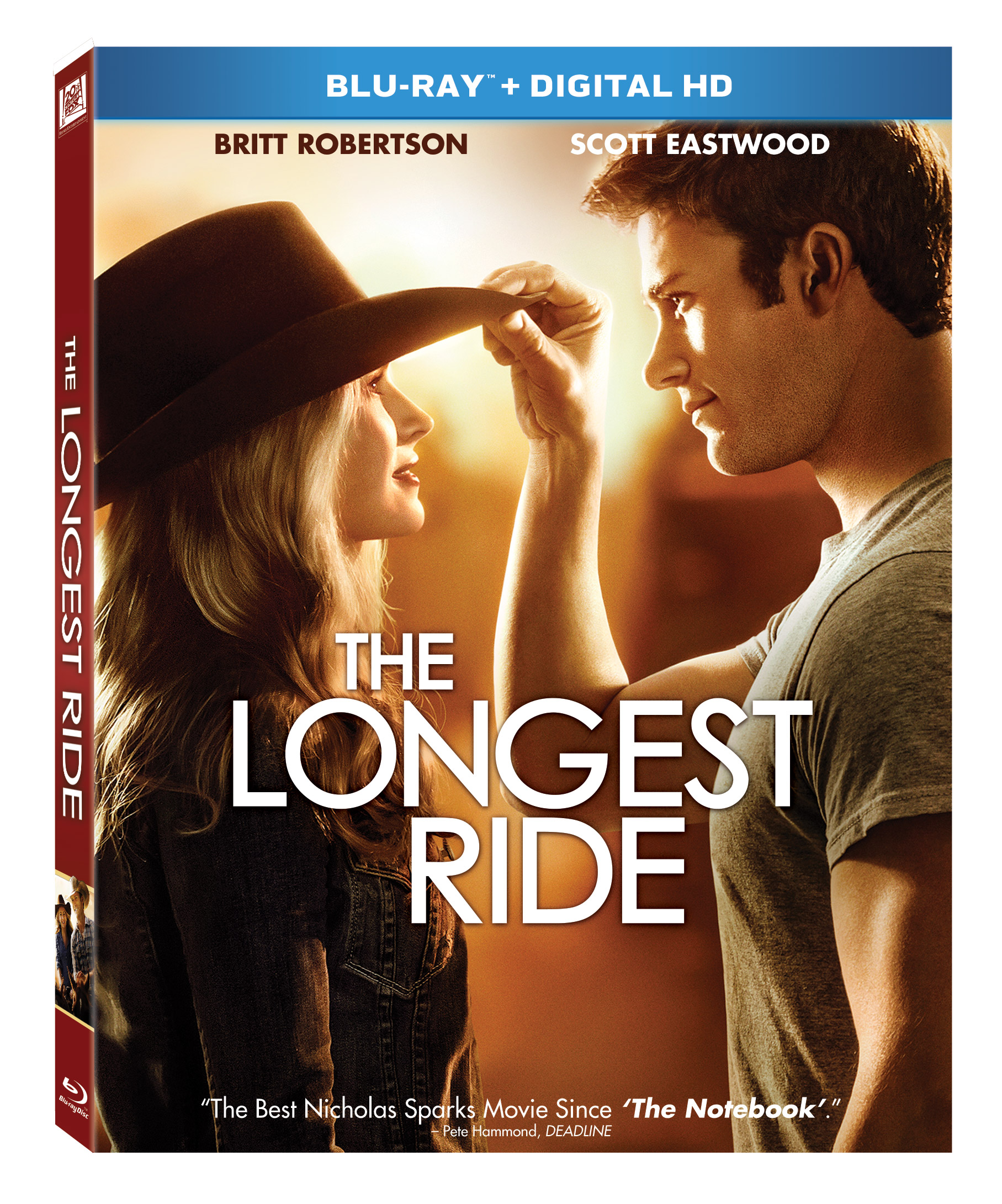 Perfect Date Night Movie ~ The Longest Ride Now Available on Blu ...