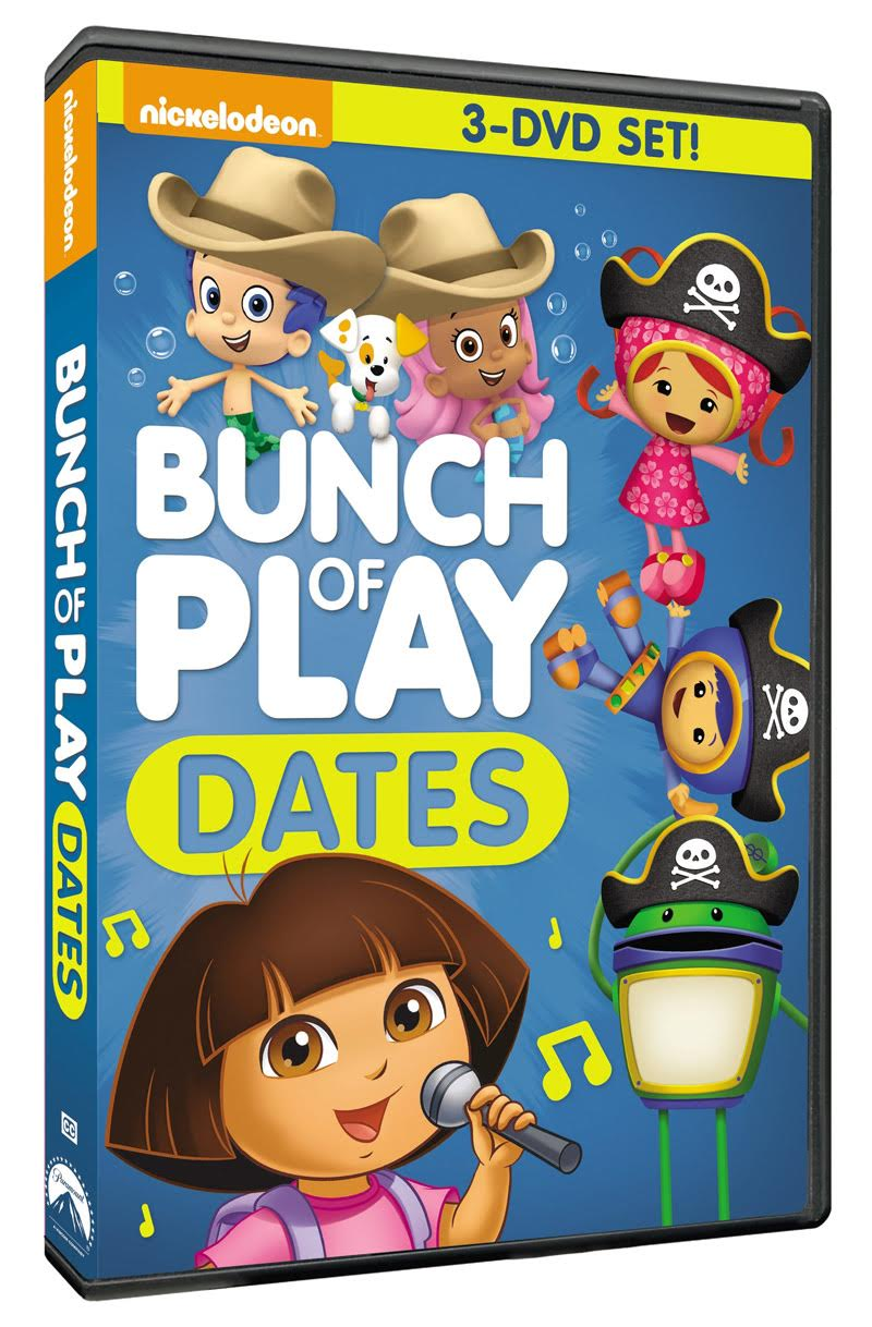 Nickelodeon Bunch Of Play Dates 3 Dvd Set Giveaway