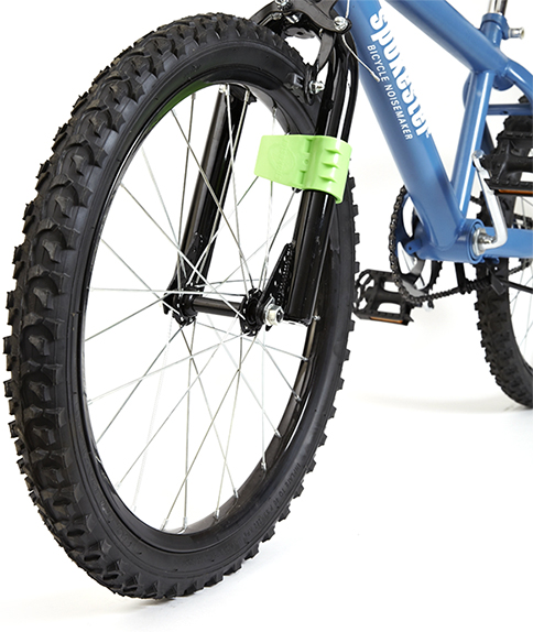 Makes Your Bike Sound Like A Motorcycle Spokester Bicycle Noise Maker