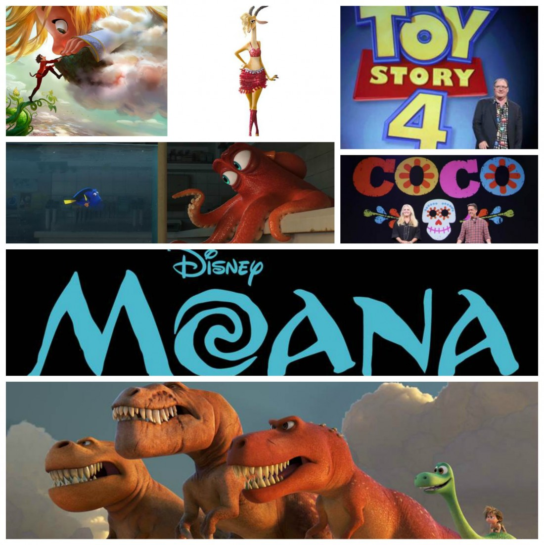 What's Next From Pixar And Walt Disney Animation? D23 Expo
