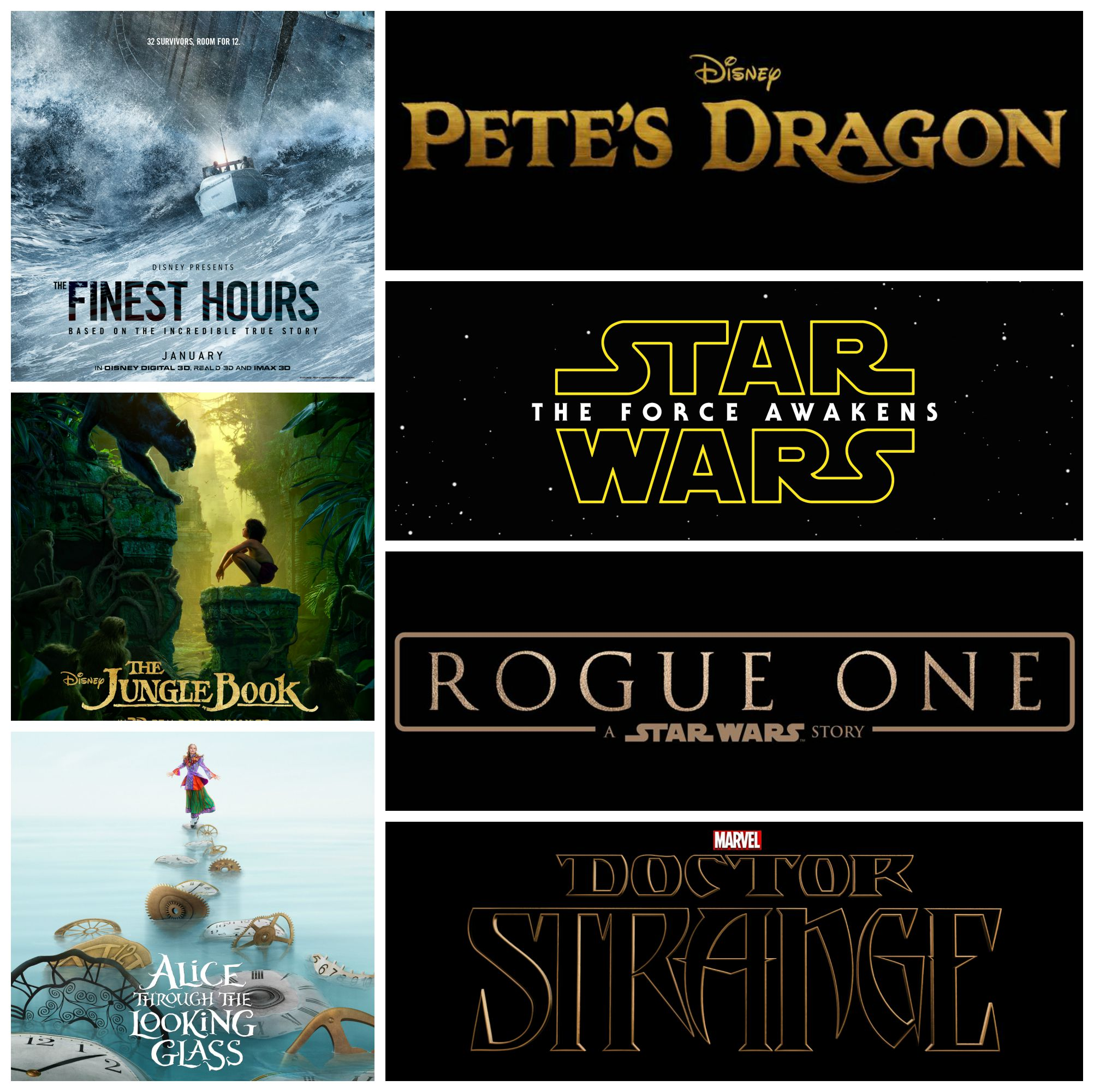 Movies: Upcoming Live Action Movies For Disney, Marvel