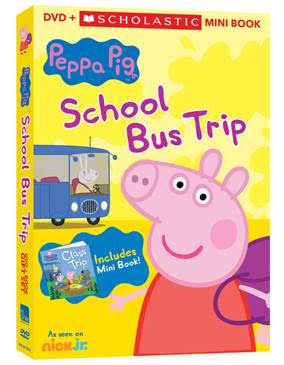 Peppa Pig School Bus Trip DVD now available!