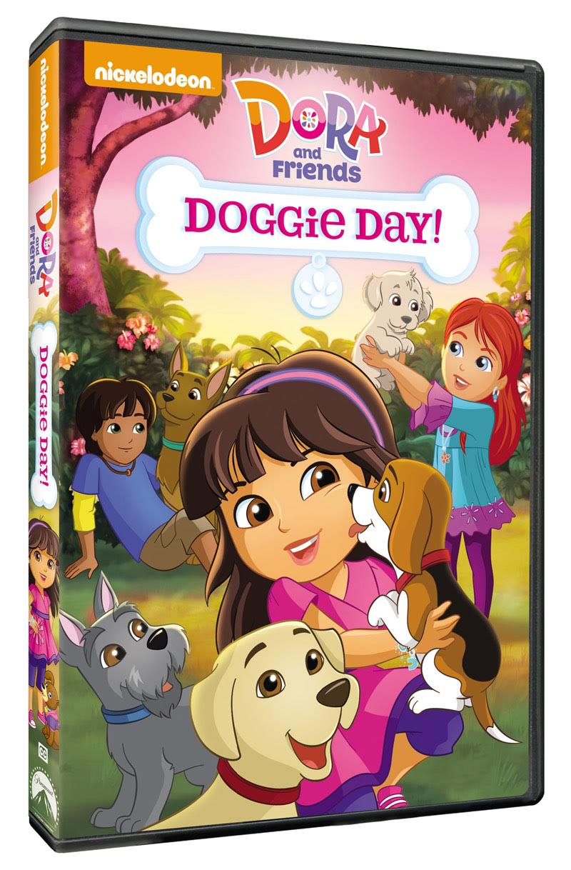 Dora And Friends Doggie Day Dvd Now Available