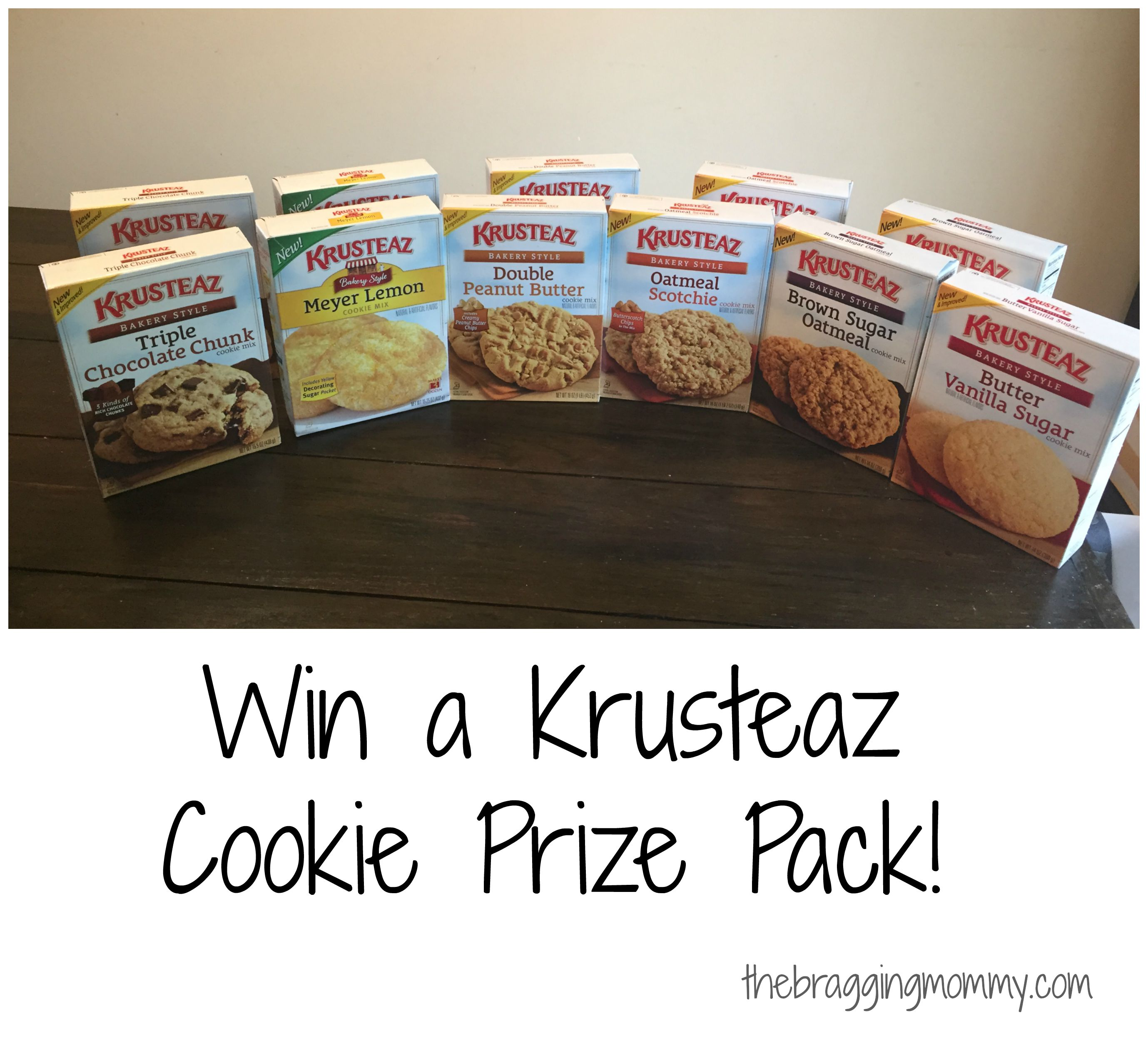 Krusteaz Delicious Boxed Cookie Mixes Review and Prize Pack Giveaway!