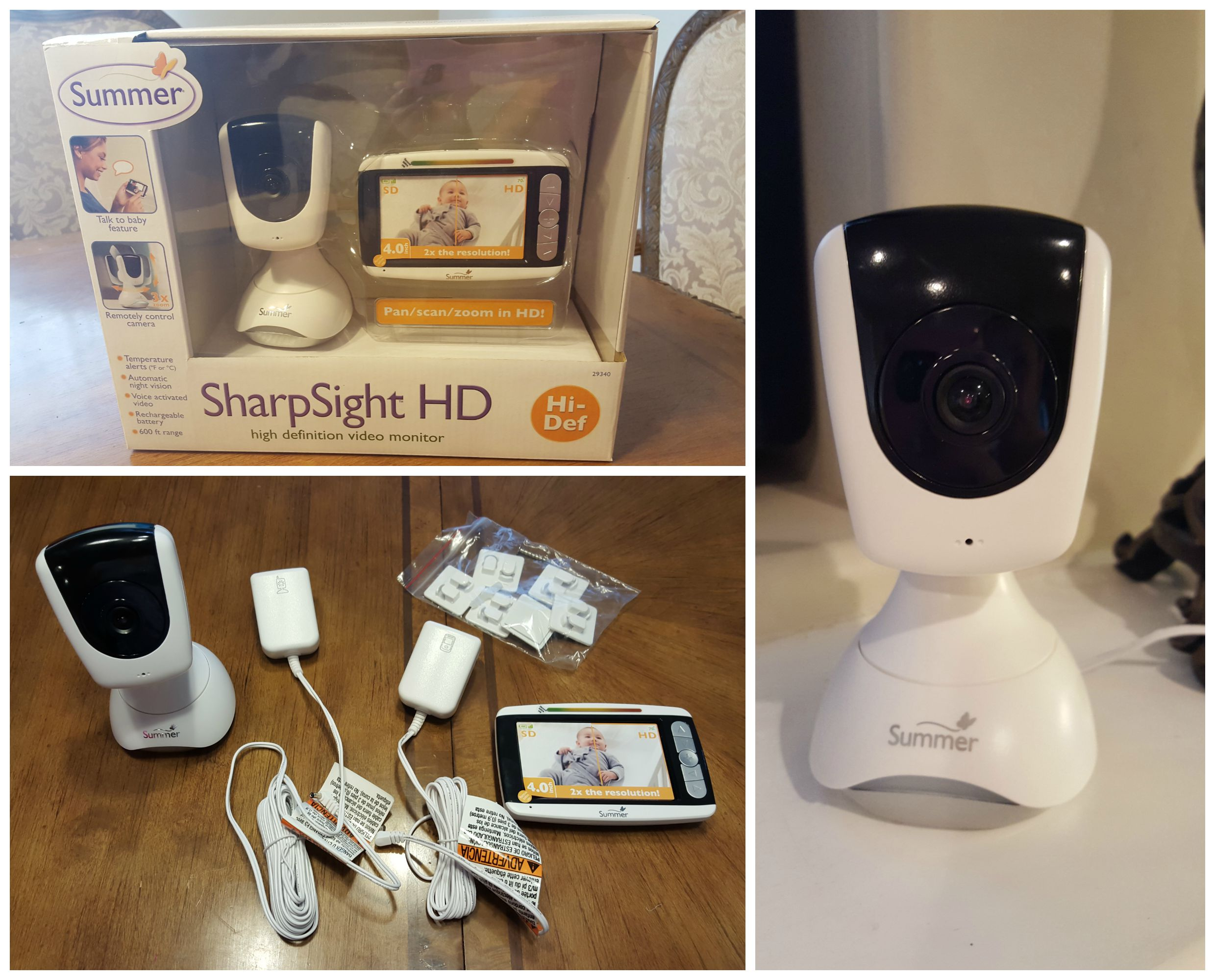 a mom s best friend summer infant sharp sight hd video monitor. Black Bedroom Furniture Sets. Home Design Ideas