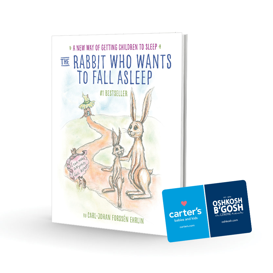 The Rabbit Who Wants to Fall Asleep Book & $25 Carter's CG Giveaway