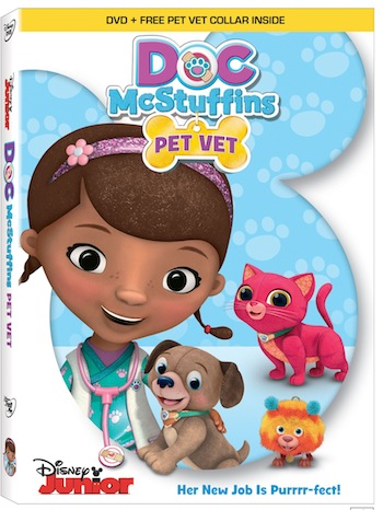 Doc McStuffins Pet Vet Available Nov. 3rd on DVD! #DocMcStuffins