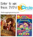 New N'Circle DVD's ~ Houdini and Meet the ABC Monsters DVD's Giveaway