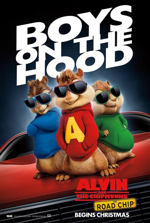 See Alvin & The Chipmunks Road Chip Movie Free in SLC, Utah This Weekend #AlvinMovie