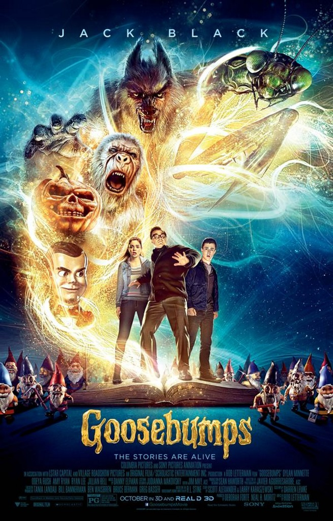 Calling all Utah Readers!!! Win a 4 pack of tickets to see The Goosebumps Movie This Friday! (10 winners!)