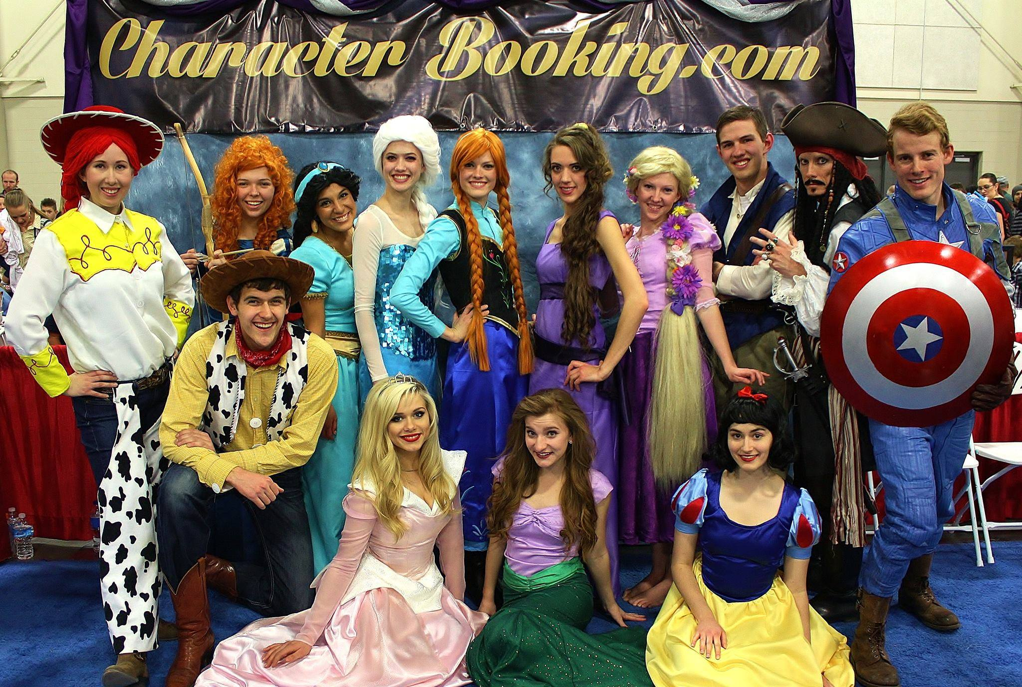 Character Booking…Perfect for any occasion!