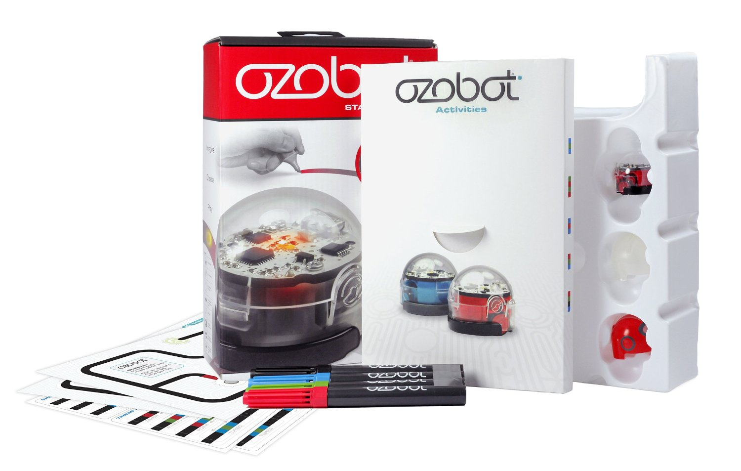 picture regarding Ozobot Printable identified as Brag Deserving Xmas Ozobot Novice Pack Robotic Toy Overview