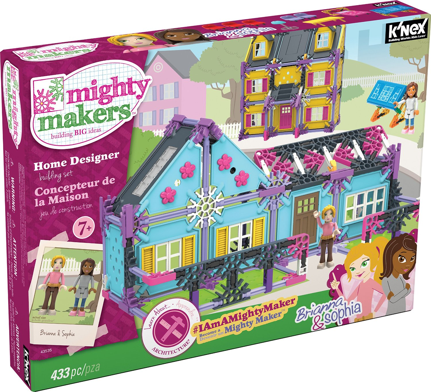 BragWorthy Christmas Tinker Toys and Mighty Makers Home Designers