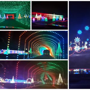 {Brag Worthy Christmas} Christmas in Color Drive Through Lights Now Open in Utah! + Giveaway (5 win!)