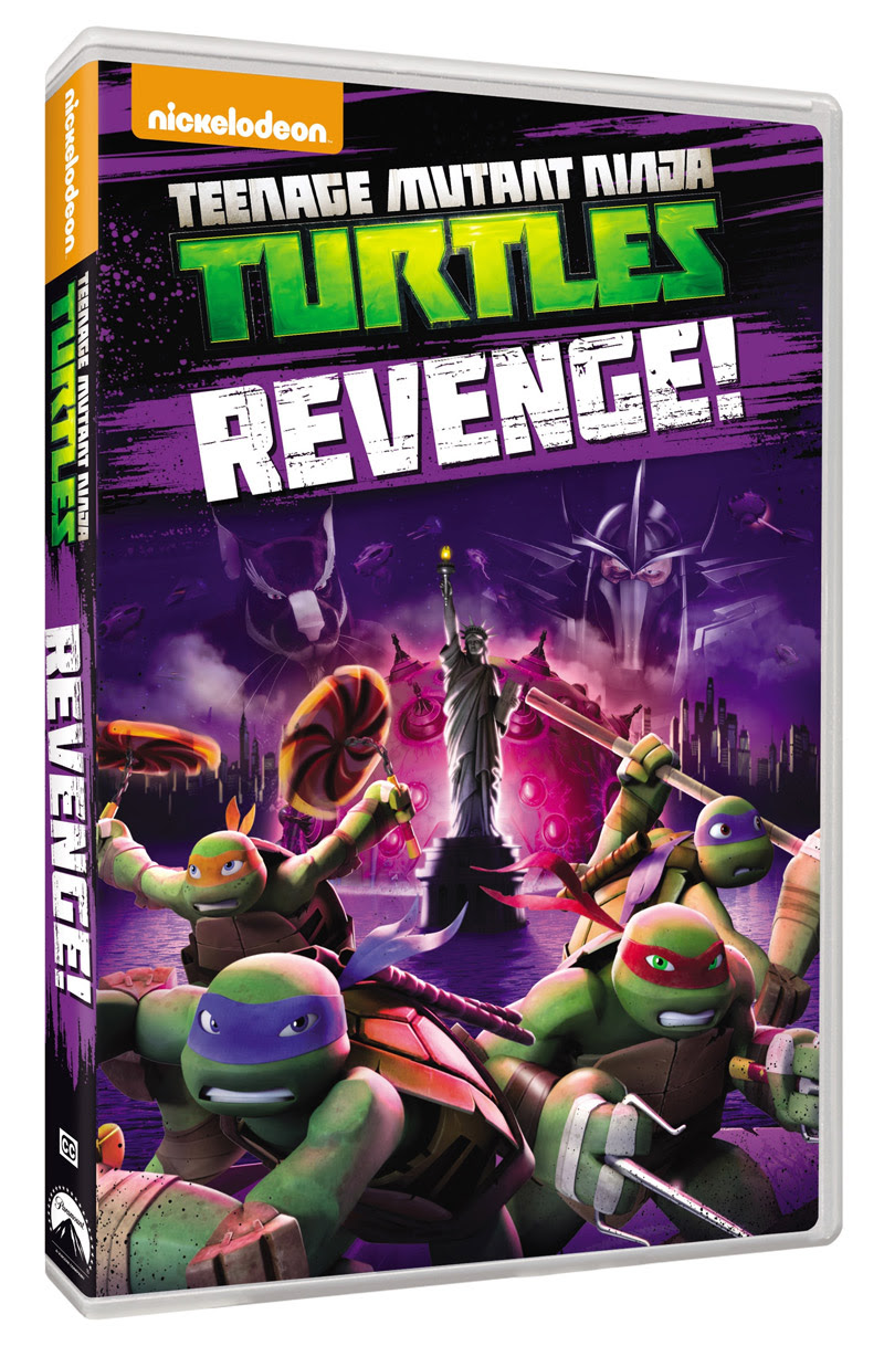 Brag Worthy Christmas} Teenage Mutant Ninja Turtles Revenge! DVD ...