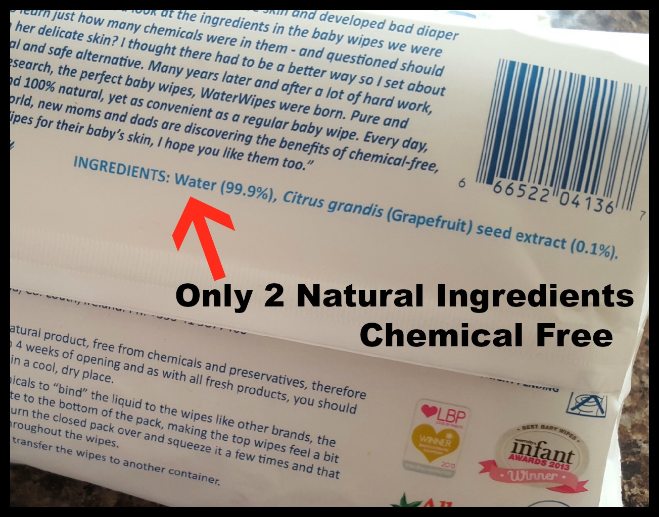 Baby wipes ingredients
