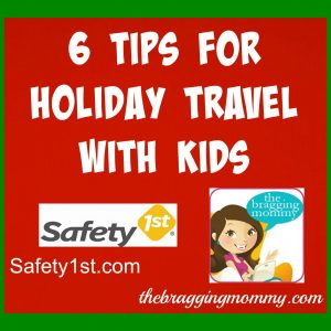 6 Tips for Holiday Travel with Kids + Secure Click Bedrail Is Great For Traveling