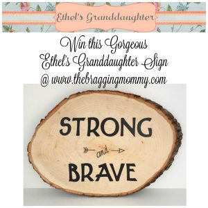 Ethel's Granddaughter Handmade Nursery Decor Review, Discount, and Giveaway!