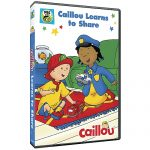 Caillou Learns to Share DVD now available!