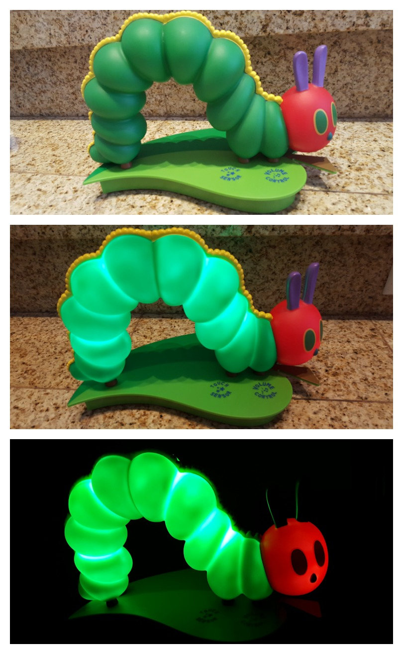 The Very Hungry Caterpillar Soothing Nightlight Amp Star