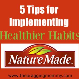 5 Tips for Implementing Healthier Habits + $50 Walmart GC Giveaway! (20 win)