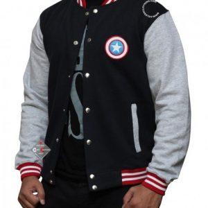 Captain America Varsity Jacket Giveaway #TeamCap #CaptainAmericaEvent