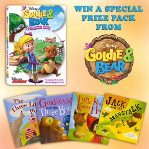 Disney's Goldie & Bear: Best Fairytale Friends DVD + Story Books Prize Pack Giveaway